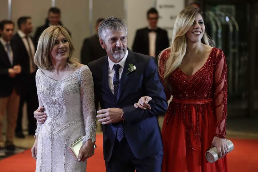 … Celia Maria Cuccittini, Jorge Messi et Maria Sol