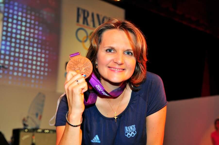 Delphine Racinet-Reau a su viser juste avec ce bronze au trap