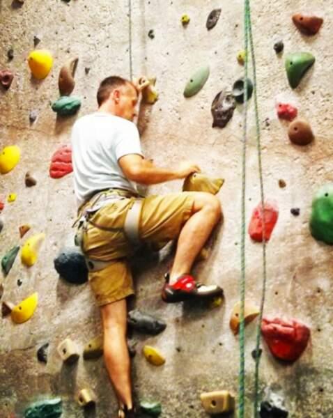 Et Robert Knepper, alias T-Bag, fait de la grimpette