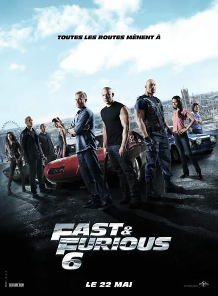 Fast and Furious a réussi sa course et son sixième volet atteint les 2,99 millions d'entrées