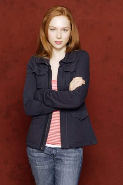 Molly C. Quinn prêtait ses traits à Alexis Castle