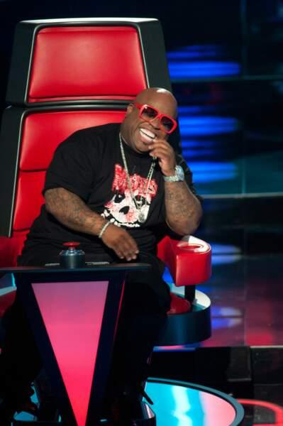 Cee Lo Green a lui aussi gardé son fauteuil de coach 4 saisons sur The Voice USA