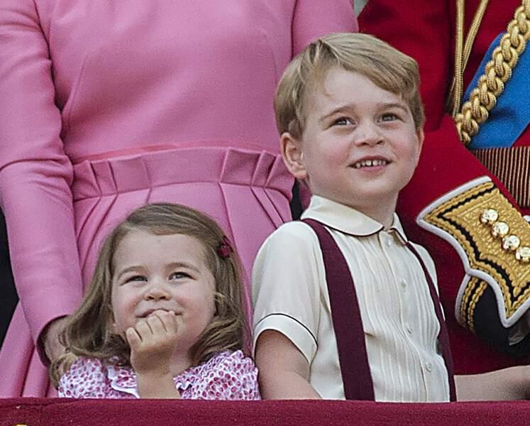 Si Elizabeth était la reine de la journée, elle s'est fait voler la vedette par les royal babies