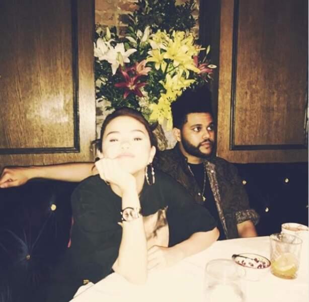 Selena Gomez avait elle aussi passé une agréable soirée au resto