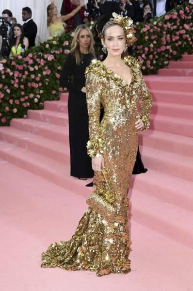 Emily Blunt, une femme en or.