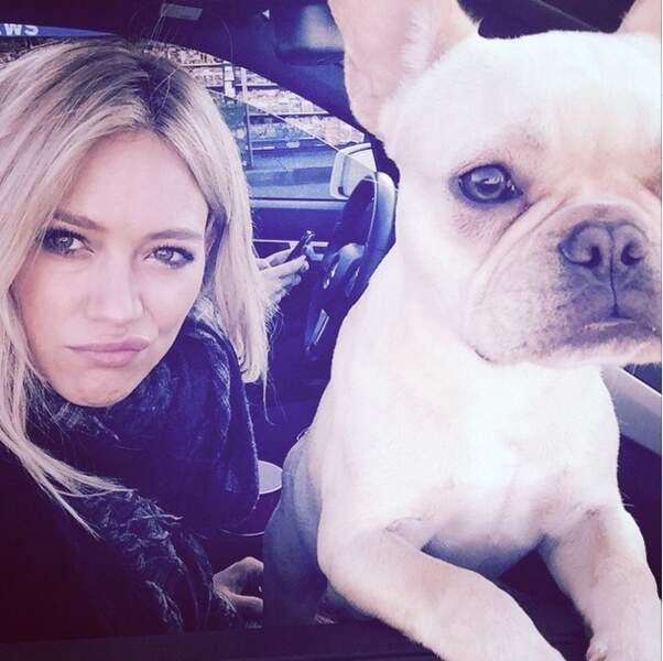Hilary Duff s'est fait un copain...