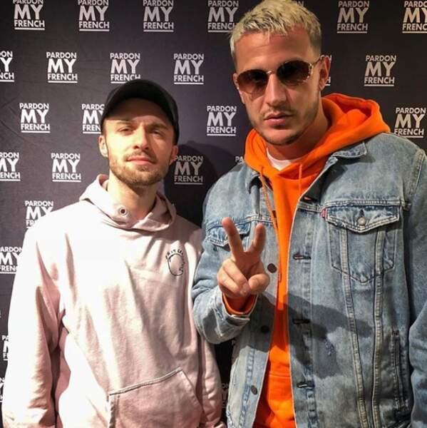 Squeezie s'est éclaté au concert de DJ Snake à Bercy