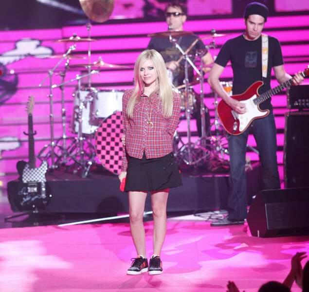 19. Avril Lavigne  (chanteuse)