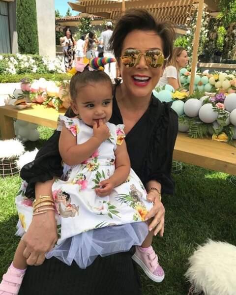 L'adorable Dream Kardashian a bien grandi.