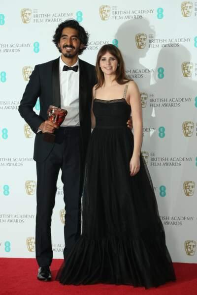 Felicity Jones (Inferno, Star Wars) et Dev Patel Where (Lion) ont aussi pris la pose côté à côte