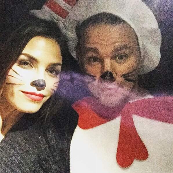 L'acteur et sa femme partage la même passion du déguisement
