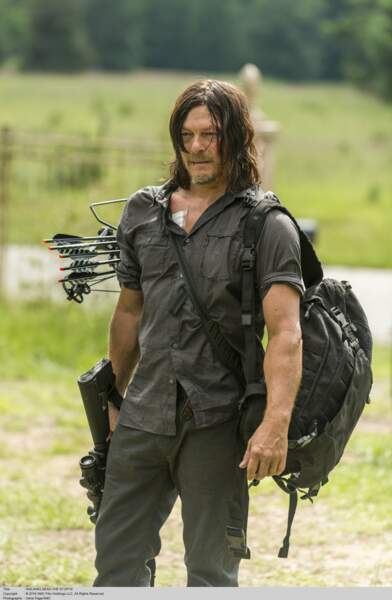 Daryl et ses flèches dans la saison 7