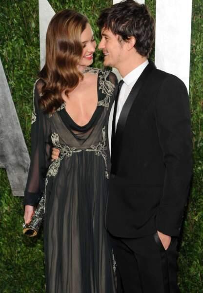 Ex-couple très glamour, Orlando Bloom aurait agressé Justin Bieber qui traînait trop autour de son ex, Miranda Kerr