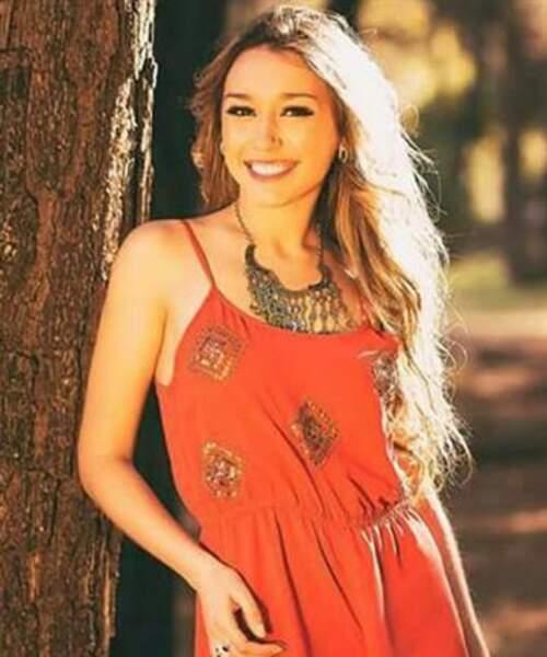Melina Carballo pour l'Uruguay