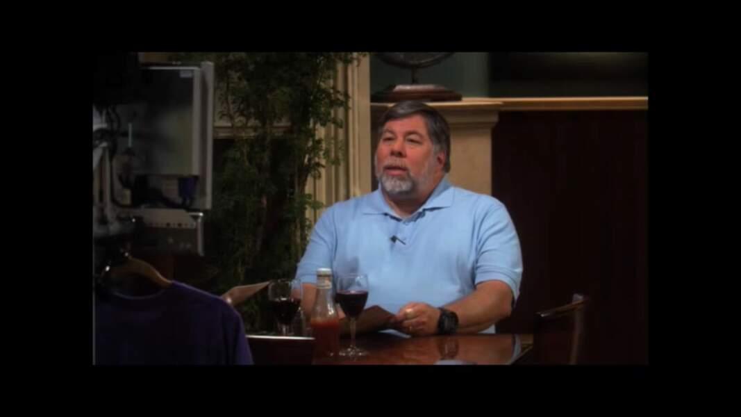 Steve Wozniak, le cofondateur d'Apple aussi a fait une apparition dans The Big Bang Theory