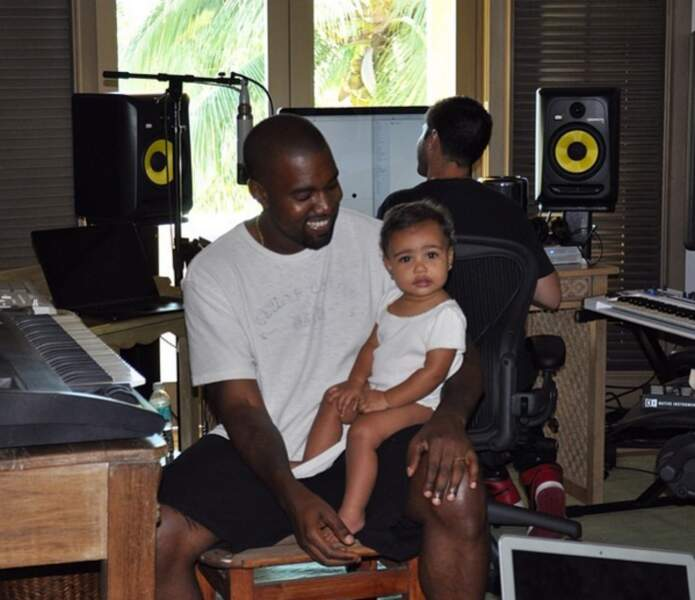 Sinon, on adore Kanye West et l'adorable North.