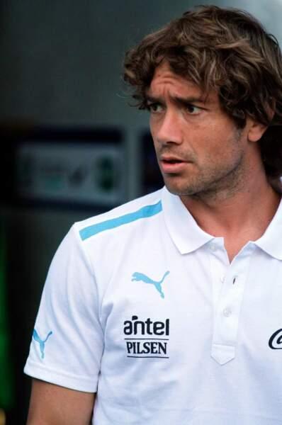 Le footballeur uruguayen Diego Lugano, 33 ans