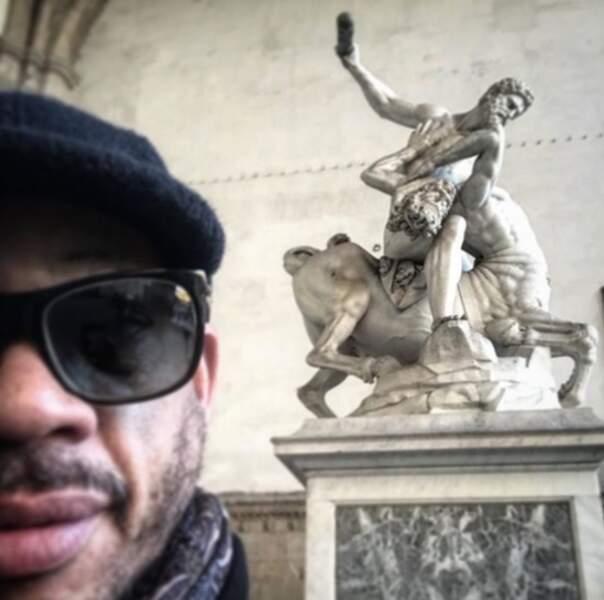 Pendant ce temps-là, JoeyStarr faisait du tourisme à Firenze.