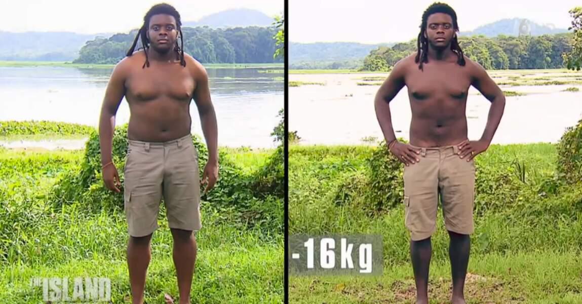 Enfin, celui qui a perdu le plus de poids est Mexan. Il s'est délesté de 16 kilos !