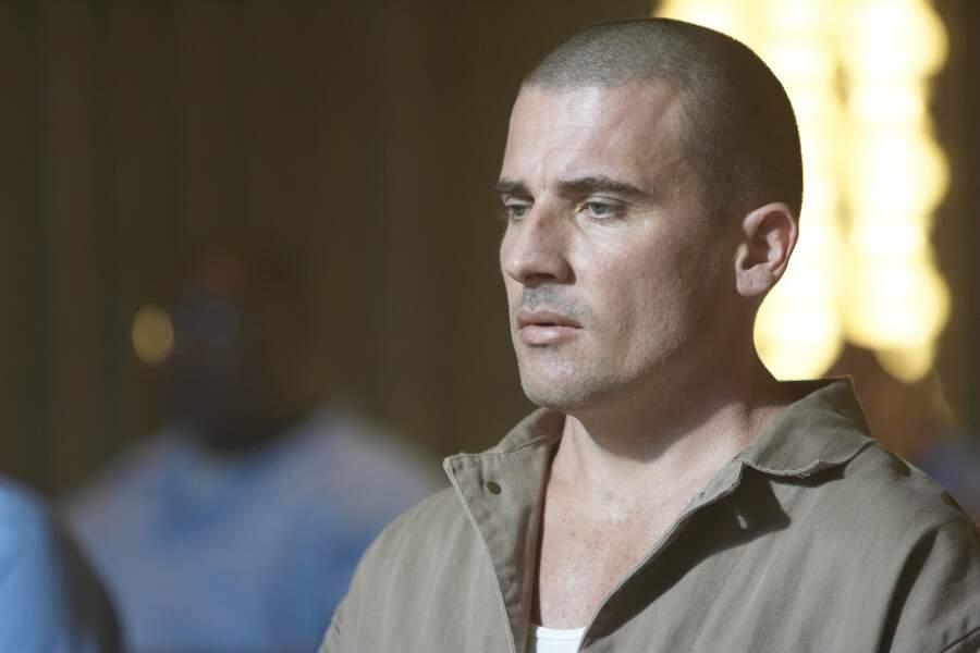 Dominic Purcell incarnait l'un des deux frères, Lincoln Burrows, victime d'une machination judiciaire