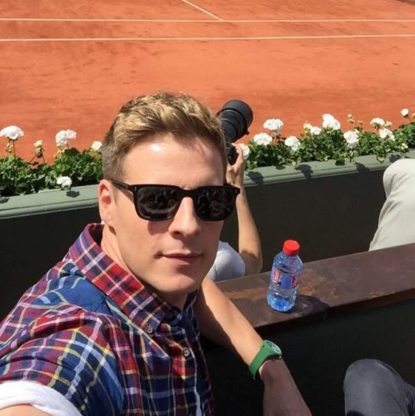 A Roland-Garros...