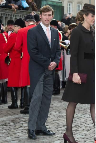 Sébastien de Luxembourg (26 ans), fils du grand-duc Henri et de la grande-duchesse Maria Teresa