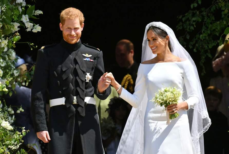 L'un des mariages les plus attendus de l'année ! Le prince Harry épouse l'actrice Meghan Markle le 19 mai