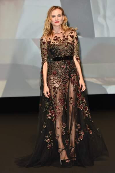 Joli coeur Diane Kruger