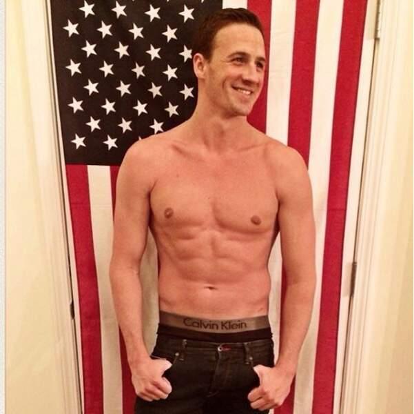 ... ou le nageur américain Ryan Lochte, détenteur de 12 médailles olympiques