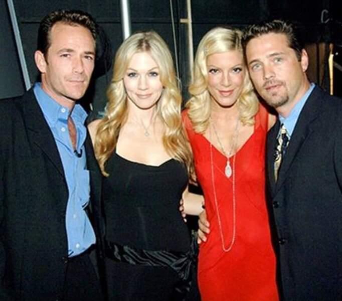 Pour Luke Perry, Jennie Garth, Tori Spelling et Jason  Priestley, l'aventure a commencé en 1990