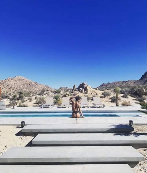 Il y a eu du sexy avec Alice Belaïdi en string dans le désert