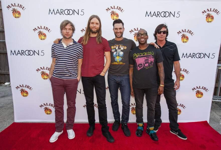48. Maroon 5 (chanteurs)