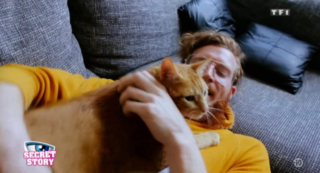 Voici Couscous, le joli chat de Geoffrey