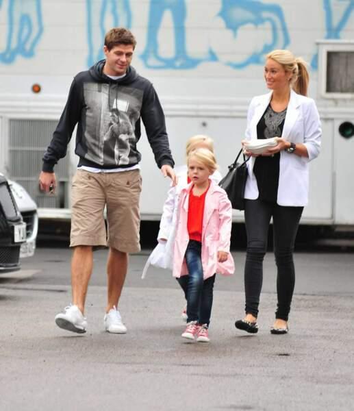 Steven Gerrard, le milieu de terrain anglais de Liverpool