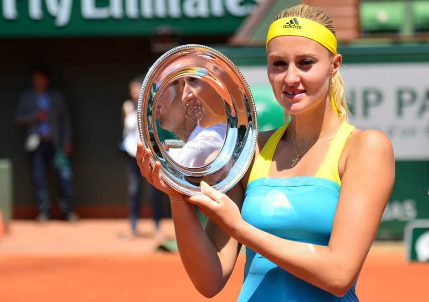 Point cocorico N°2 : Kristina Mladenovic a disputé, hier, la finale du double mixte...