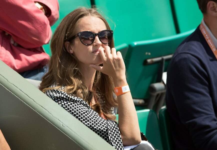 Comme chaque jour, Kim Sears, la femme d'Andy Murray, est venue encourager son chéri