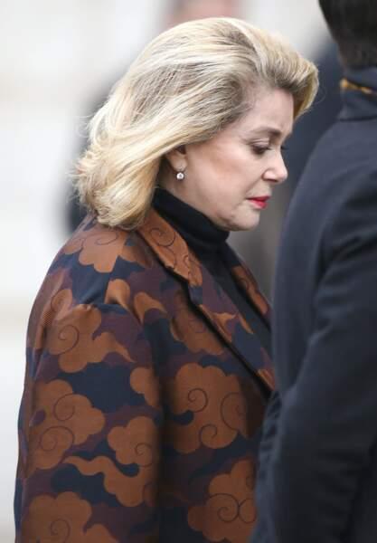 La comédienne Catherine Deneuve