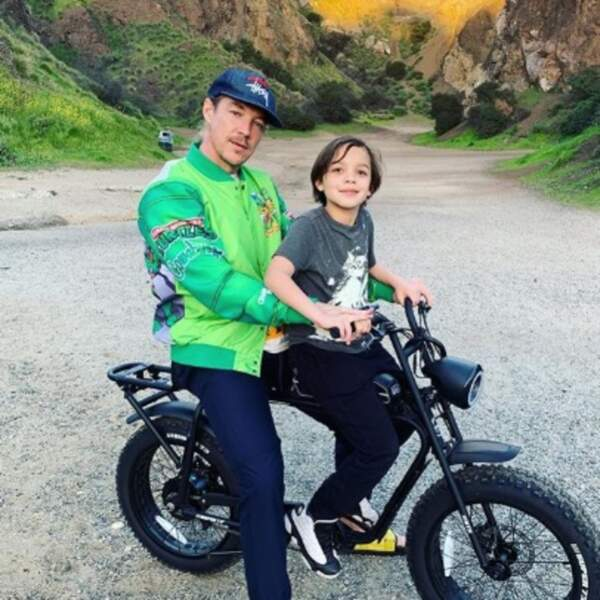 Ça roule pour Diplo et son fils Lockett.