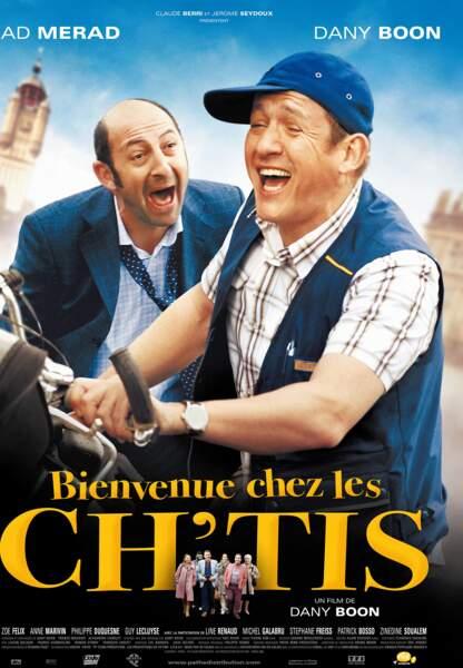 """A en croire """"Bienvenue chez les ch'tis"""" de Dany Boon, avec Kad Merad..."""