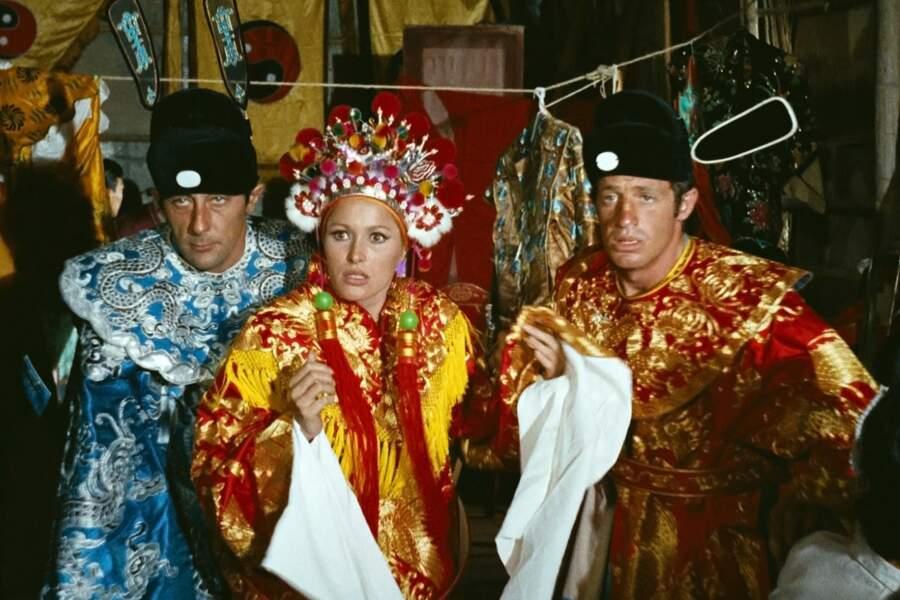 1965 : Les Tribulations d'un chinois en Chine, est l'adaptation très libre du roman éponyme de Jules Verne