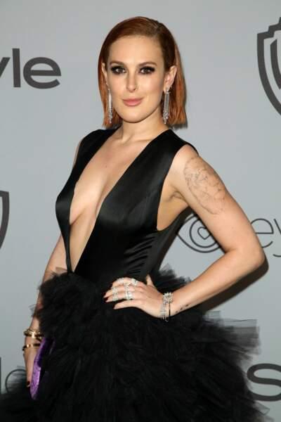 Rumer Willis la fille de Bruce Willis et Demi Moore assure la relève avec panache