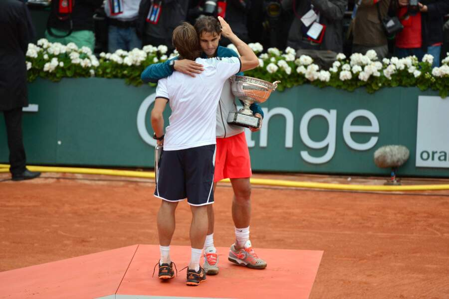 2013 : Nadal s'impose face à son compatriote David Ferrer