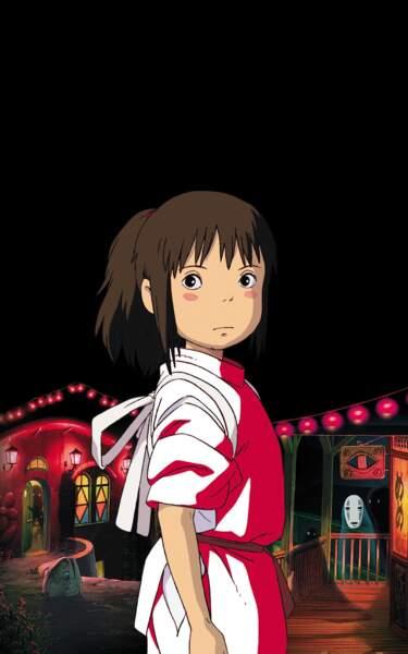 Le voyage de Chihiro (2001) : On y suit la petite Chihiro, perdue dans un monde cruel et magique