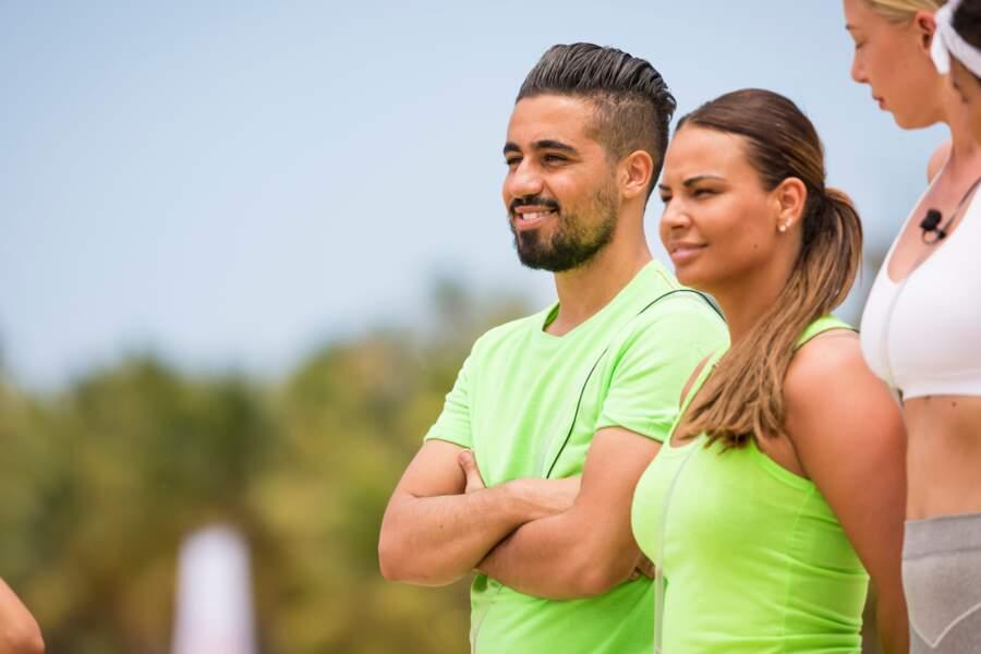 Inès de 10 couples parfaits et Oussama de Pékin Express portent le vert
