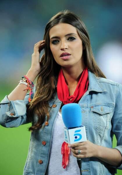 Sara Carbonero est une journaliste très connue en Espagne...