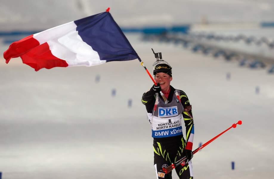 8 mars, Marie Dorin, la maman qui a conquis le monde...deux fois (sprint et poursuite)