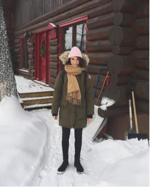 ... que dans sa cabane au Canada !