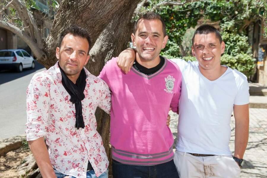 Les trois habitants de Castillon-du-Gard