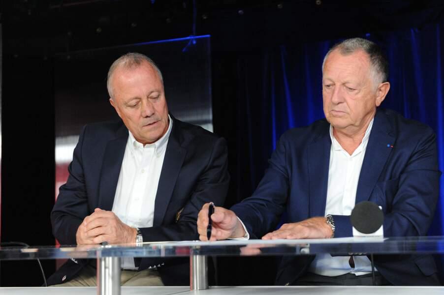 Il est aujourd'hui l'un des conseillers de Jean-Michel Aulas à l'Olympique Lyonnais