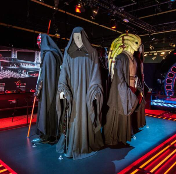Les costumes des Jedi